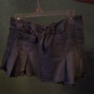 Mudd brand blue jean skirt